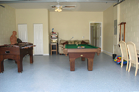 Games Room After