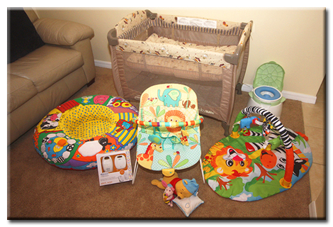 Baby and Toddler Equipment
